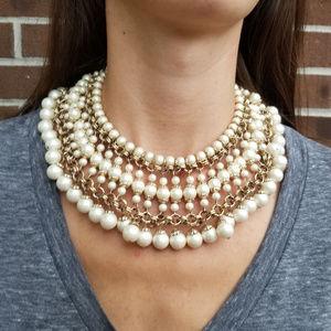 Vintage Vendome Stunning Bib Collar Necklace